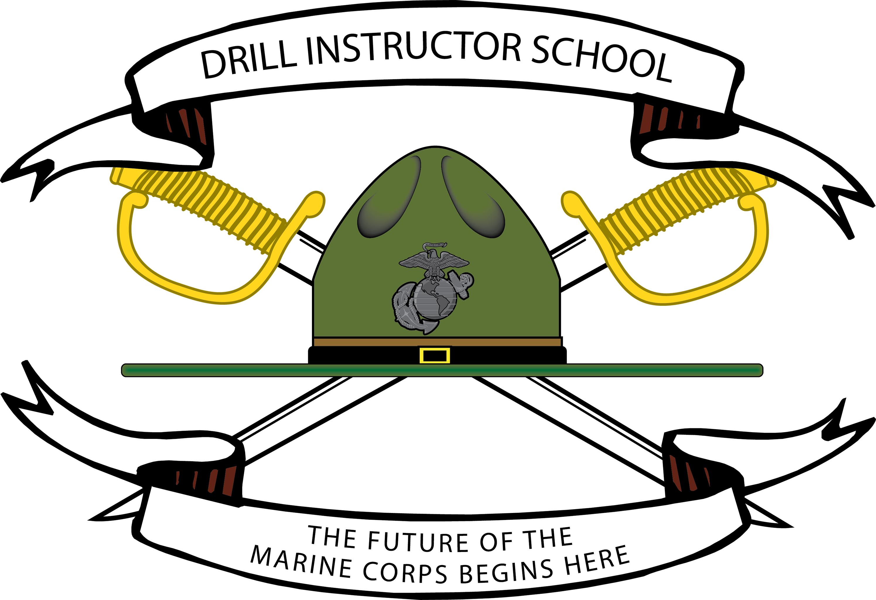 Di School Logo With 2 Swords And Bannergver2016 04 06 111647 820