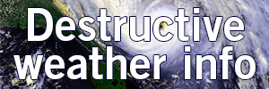 destructive weather information