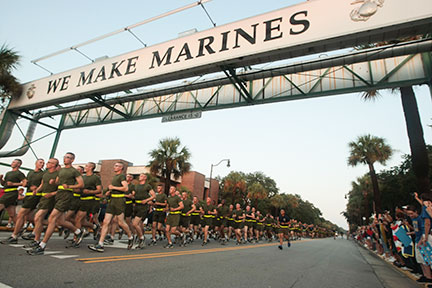 We make Marines
